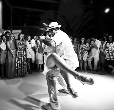 Danseurs de samba-gafieira