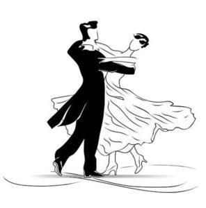 Dessin de danseur de valse