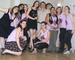 cours de danse pour enterrement de vie de jeune fille